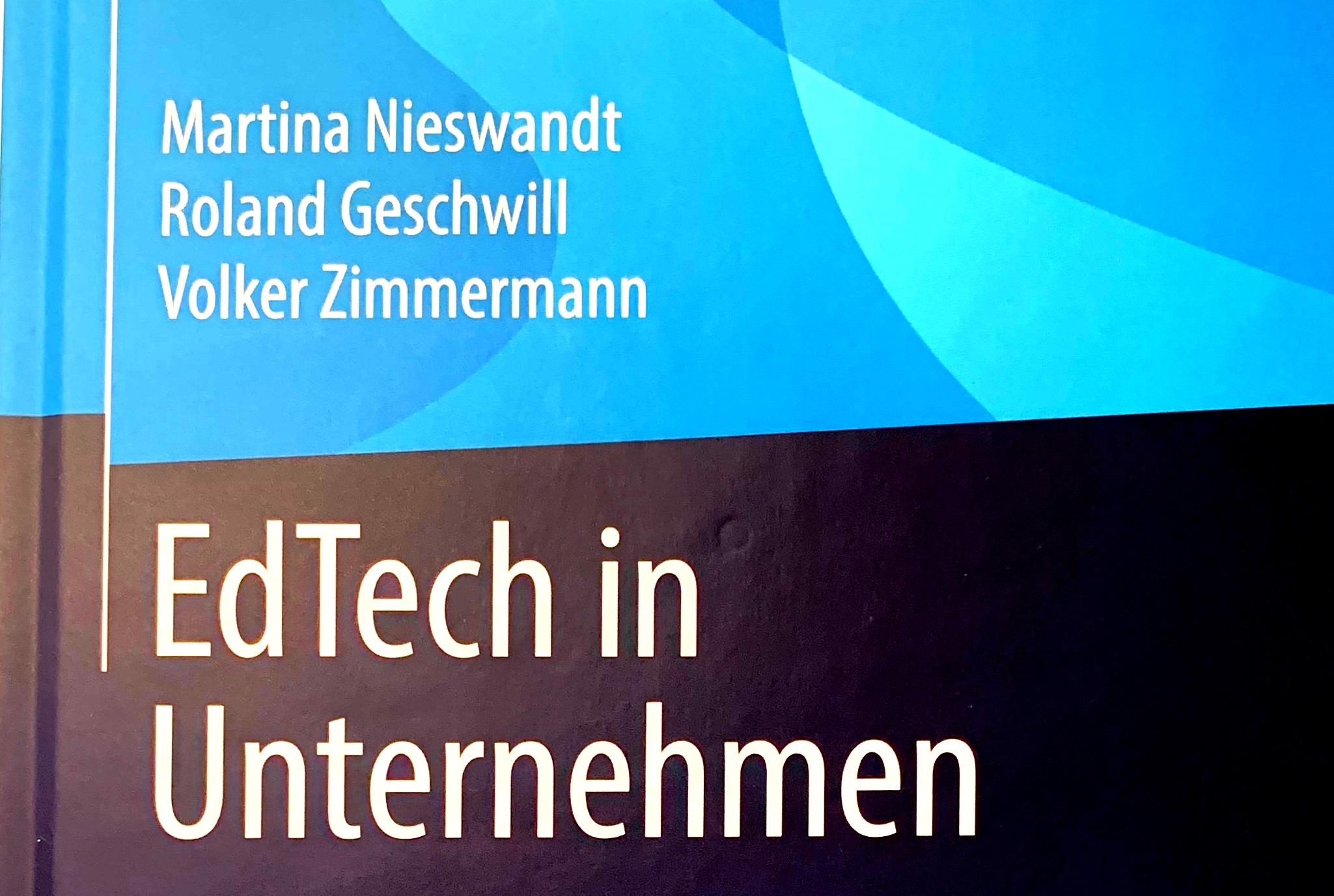 Buchveröffentlichung: EdTech in Unternehmen
